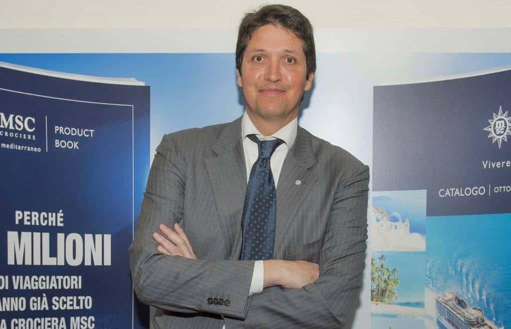Leonardo Massa, MSC Crociere