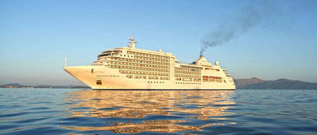 Silversea: comincia oggi a Palermo l'allungamento di Silver Spirit