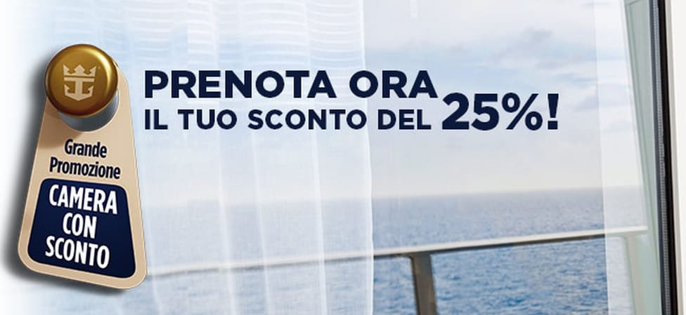 Camera con sconto Royal Caribbean
