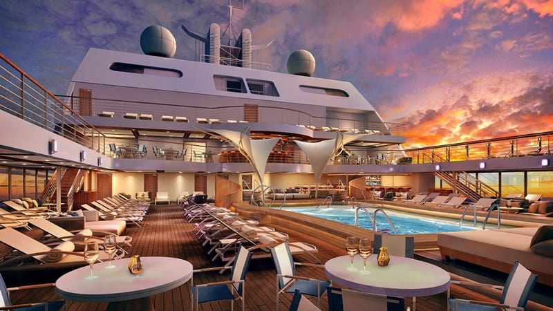 Seabourn Encore, Seabourn Cruises, Main-Pool_Deck-9