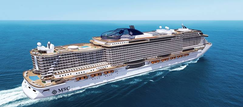 Seaside, MSC Crociere, rendering