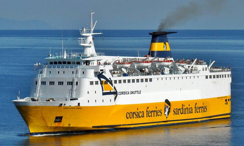 Corsica Marina Seconda, Corsica Sardinia Ferries