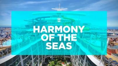 Royal Caribbean: online la nuova brochure di Harmony of the Seas