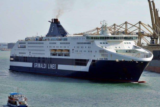 Cruise Roma, Grimaldi Lines