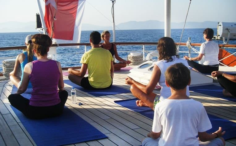 Star Clippers, yoga