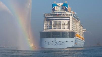 Royal Caribbean: Anthem of the Seas arriva a Southampton. Lunedì 20 aprile il battesimo ufficiale