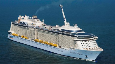 Royal Caribbean: Spectrum of the Seas pronta al floating out