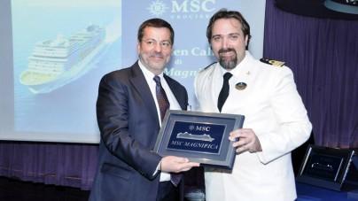 MSC Crociere: Maiden Call a Brindisi per MSC Magnifica