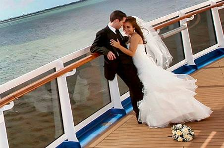 Wedding at sea Norwegian Cruise Line