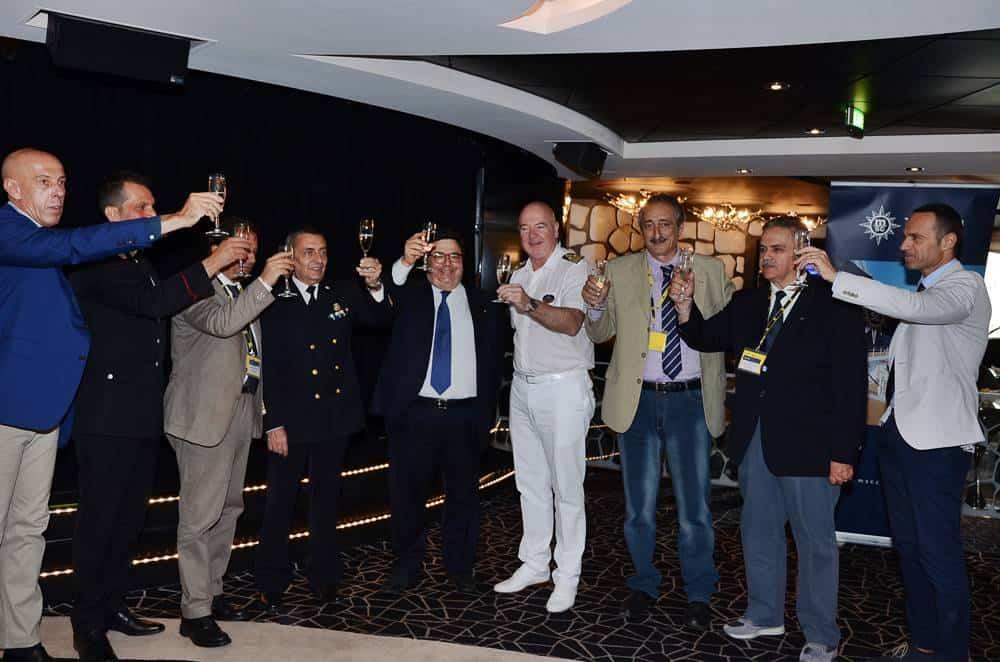 Brindisi Maiden Call MSC Divina a Napoli, MSC Crociere