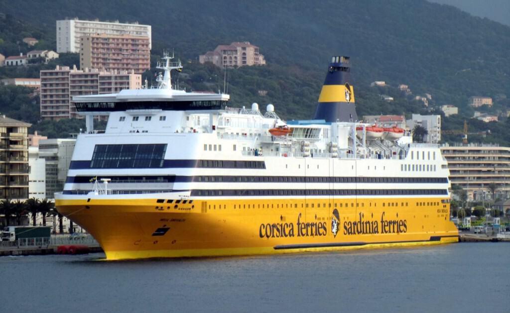 Mega Smeralda, Corsica Sardinia Ferries