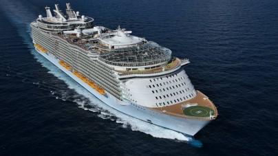 La Spezia accoglie per tutta l'estate 2015 Allure of the Seas, la più grande nave da crociera del mondo