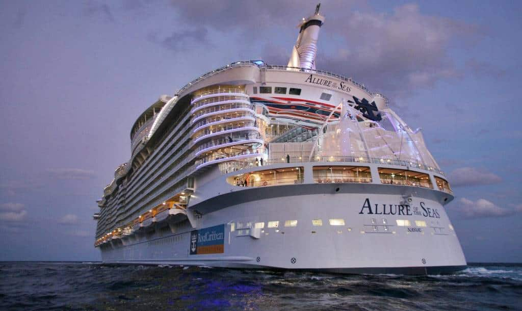 Allure of the Seas, Royal Caribbean International