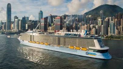 Royal Caribbean: float out per Harmony of the Seas e maiden call per Quantum of the Seas a Hong Kong
