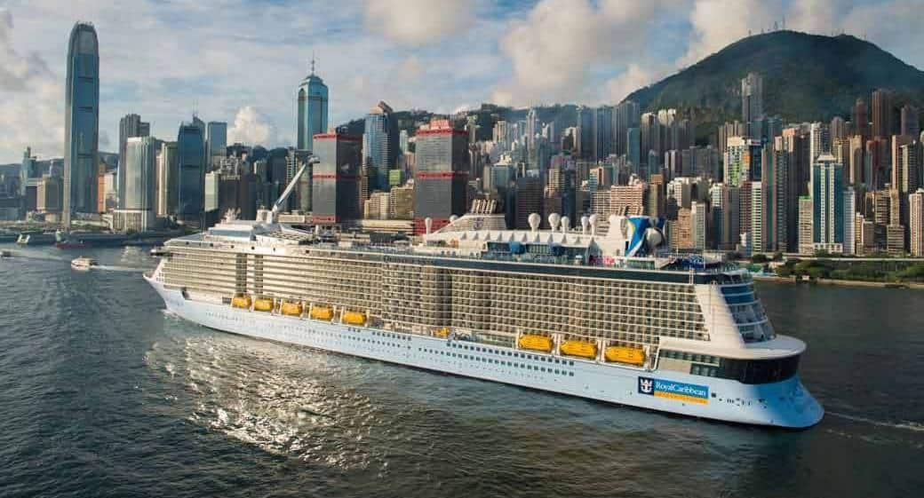 Quantum of the Seas, Royal Caribbean International, Hong Kong