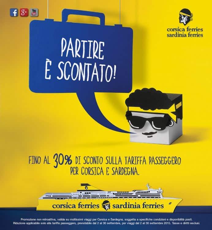 Corsica Sardinia Ferries promo