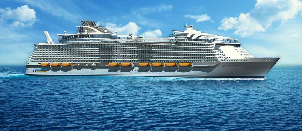 Royal Caribbean presenta alla Spezia Harmony of the Seas, la più grande nave da crociera del mondo in Italia nel 2016