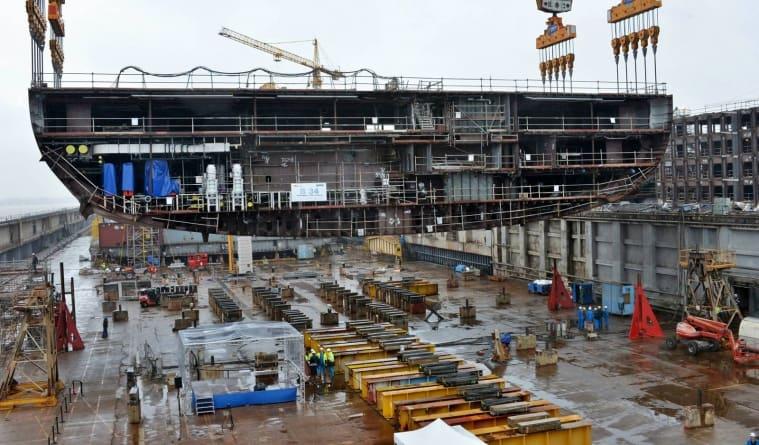 Royal Caribbean: a St. Nazaire posata la chiglia della quarta nave di classe Oasis