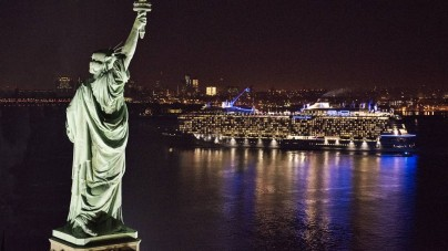 Royal Caribbean: Anthem of the Seas debutta a New York – Fotonotizia