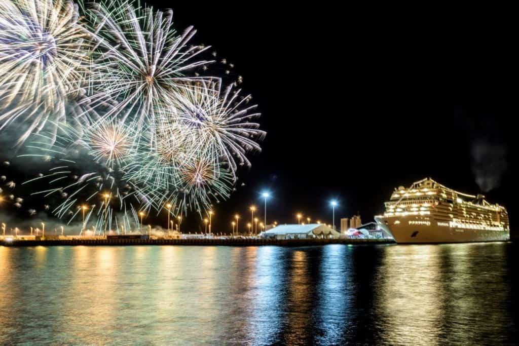 MSC Musica a Zayed Port, Abu Dhabi