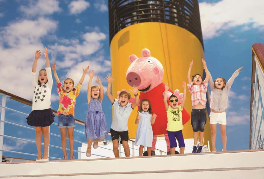 Peppa Pig, Costa Crociere, La Felicità al Quadrato