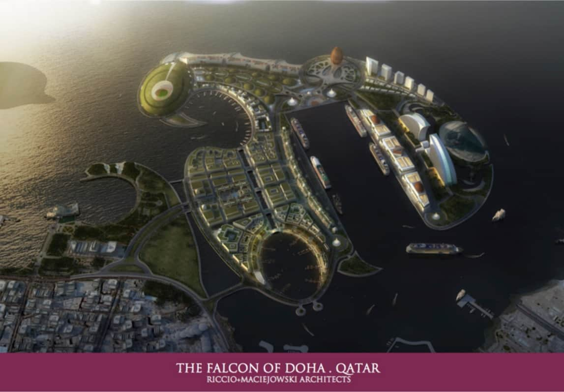 The Falcon of Doha, Qatar 2