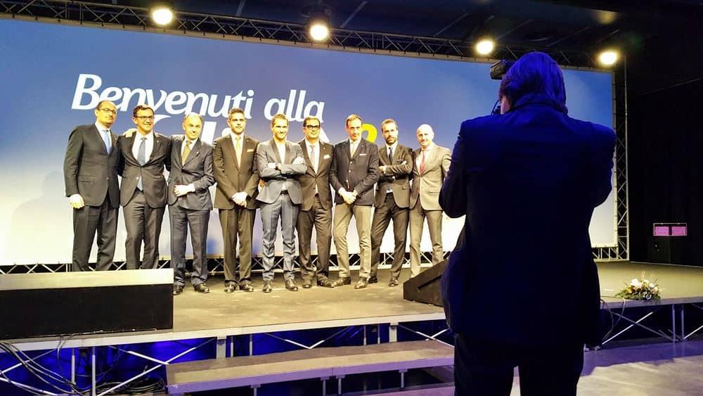 Top Management Costa Crociere, La Felicità al Quadrato