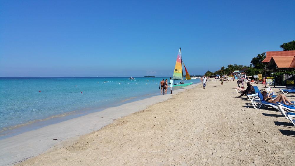 Seven Mile Beach, Negril, Giamaica
