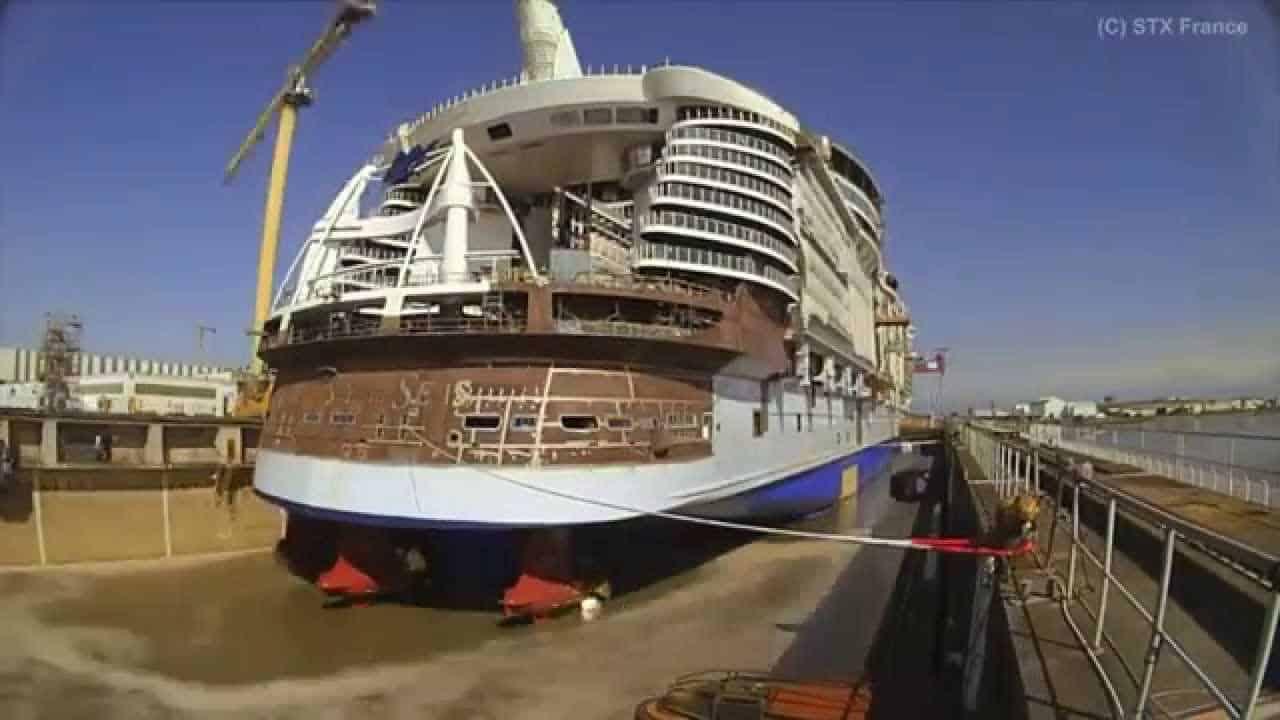 Videos Harmony Of The Seas Il Time Lapse Completo Della Costruzione Della Nave Dream Blog