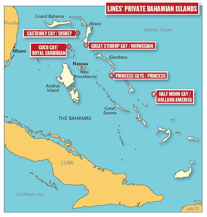 private island in the caribbean