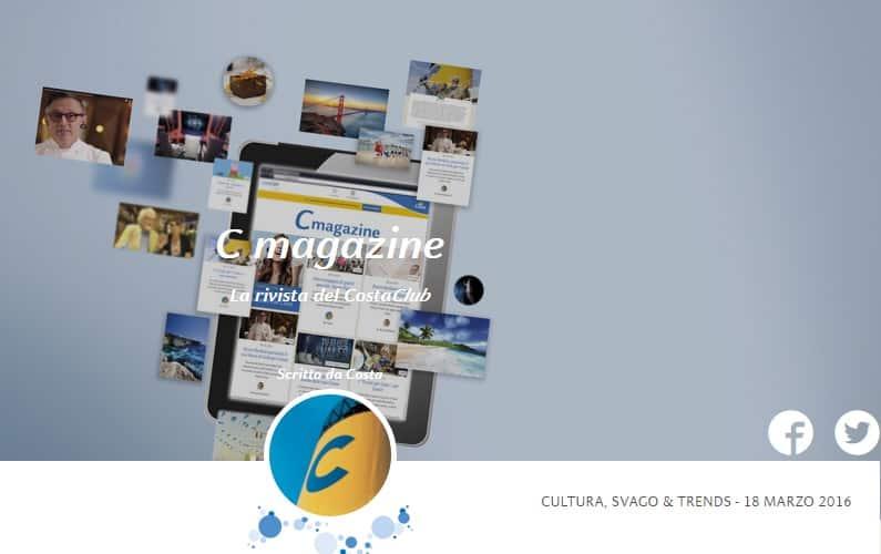 C Magazine, Costa Crociere