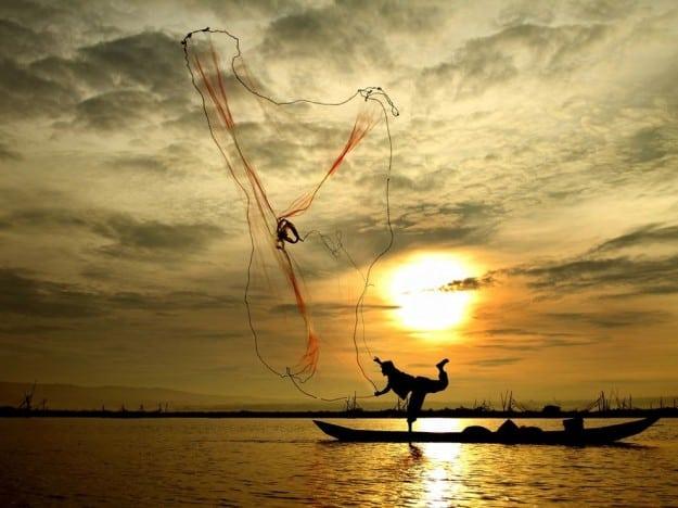 Indonesia, tramonto