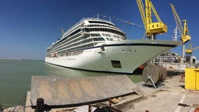 Fincantieri: al via ad Ancona i lavori in bacino per Viking Sun
