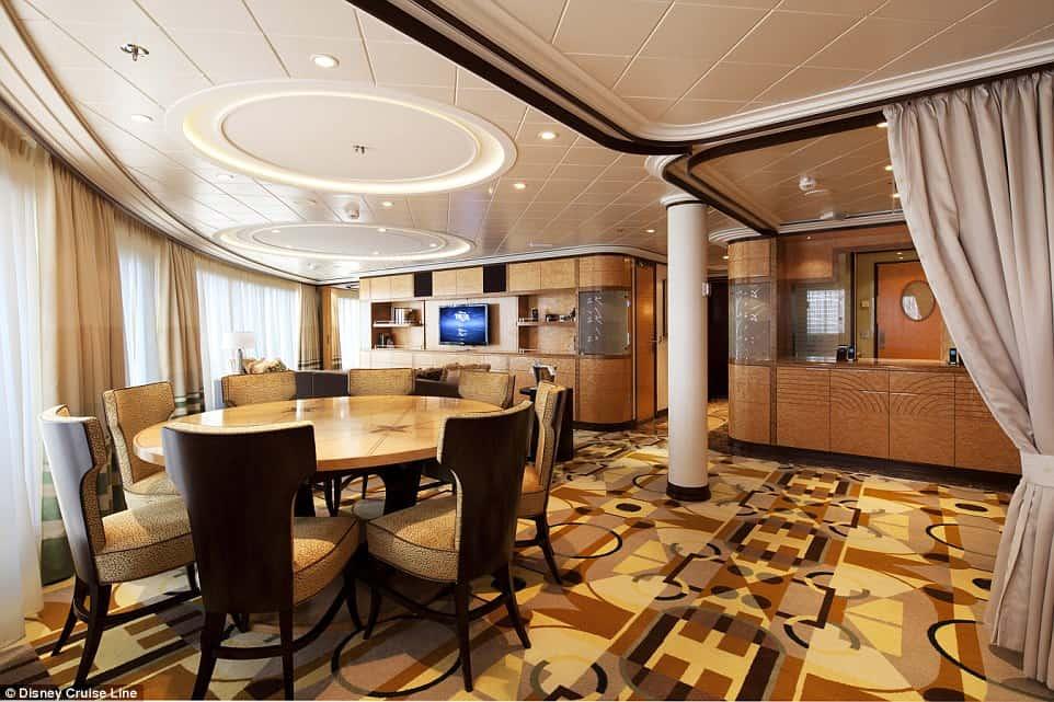 Concierge Royal Suite, Disney Cruise Line 3