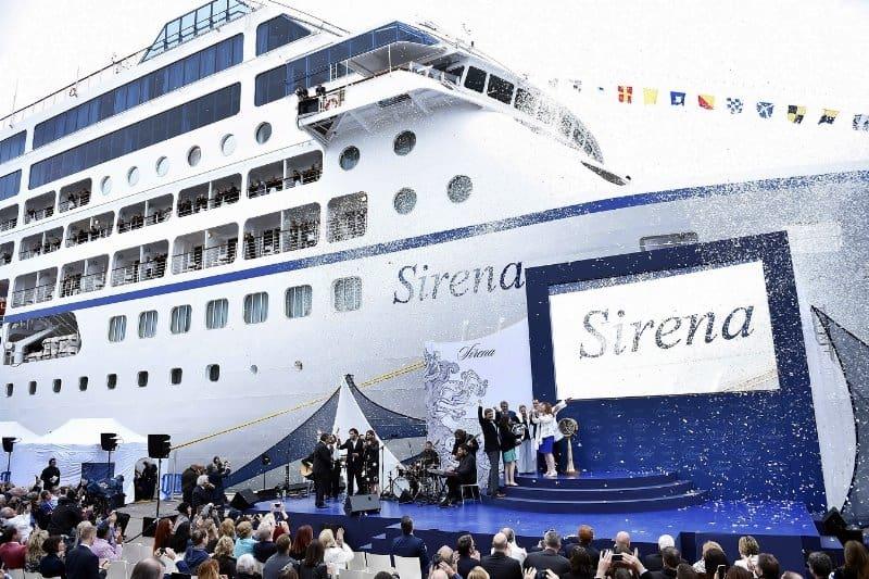 Oceania Sirena, Oceania Cruises
