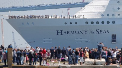 Harmony of the Seas saluta i cantieri francesi STX
