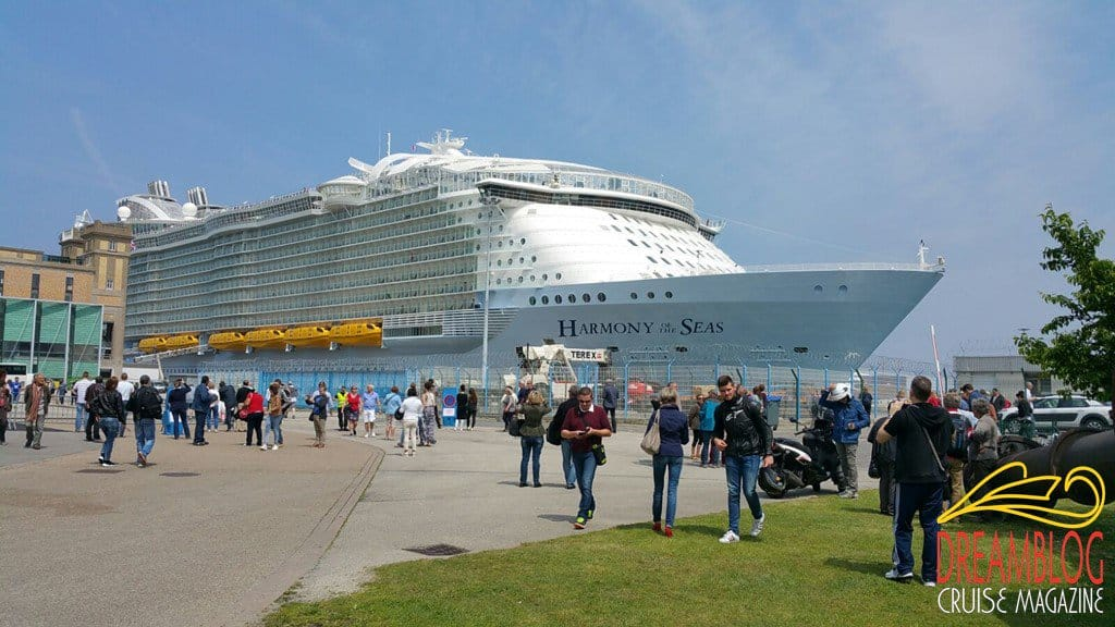 Harmony of the Seas, Royal Caribbean International, Cherbourg