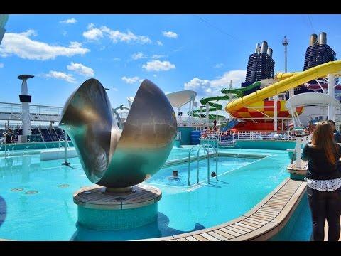 Norwegian Cruise Line e il Freestyle Cruising di Norwegian Epic, ship tour