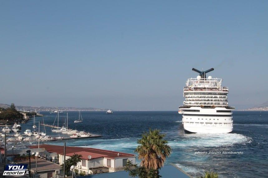 Carnival Vista, Marina del Nettuno, Messina