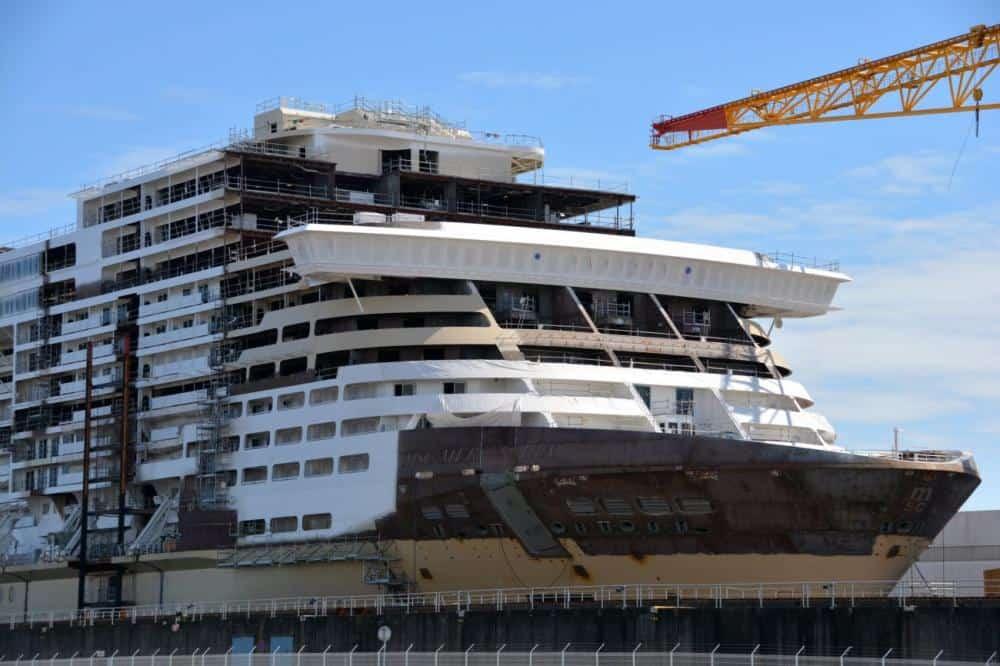 MSC Meraviglia in costruzione