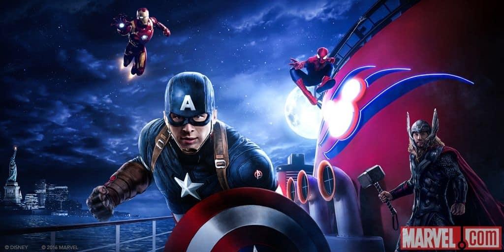 Marvel Day at Sea, Disney Cruise Line