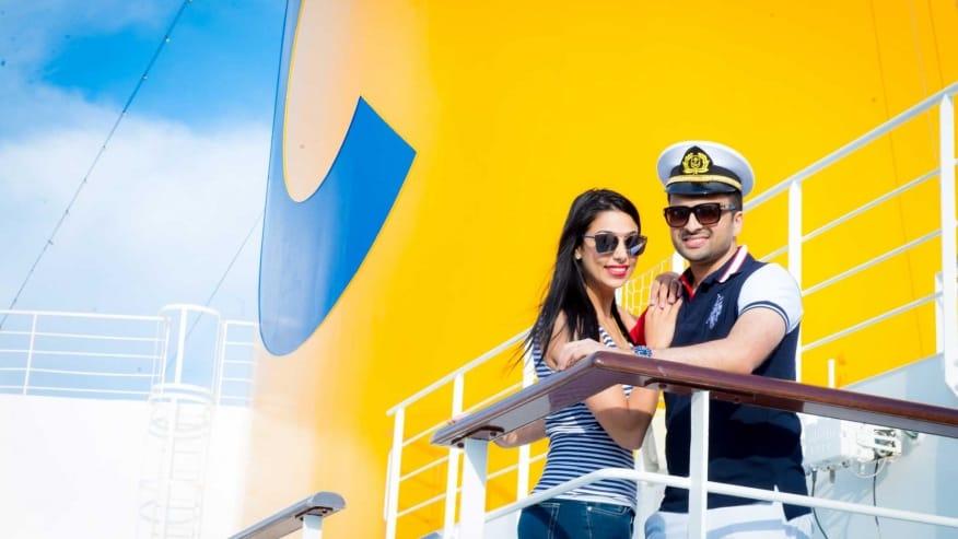 Il matrimonio indiano dell'anno a bordo di Costa Fascinosa. Nave interamente prenotata per oltre 1.000 invitati ed eventi VIP