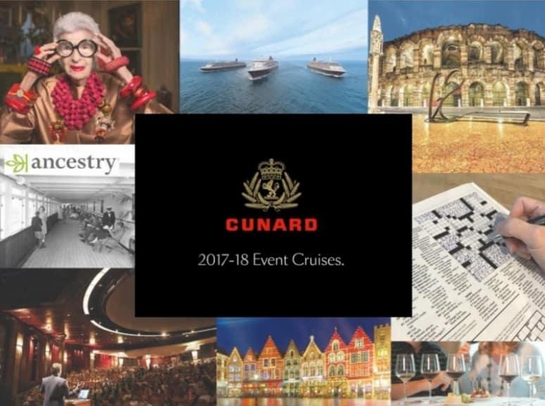 Cunard, Event Cruises
