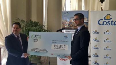 Dal Gruppo Costa una donazione di 100.000 euro a supporto delle missioni di Mercy Ships