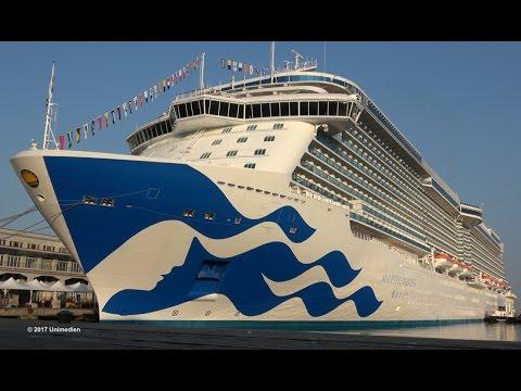 Majestic Princess: il maiden call a Trieste in 4K