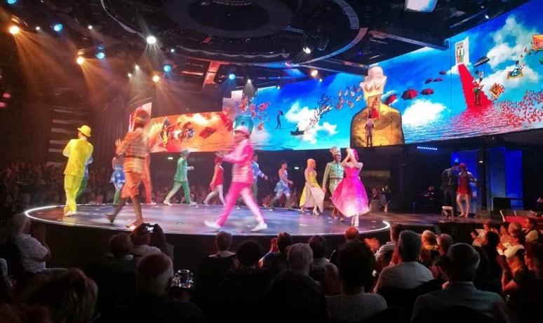 MSC Meraviglia, MSC Crociere, Cirque du Soleil