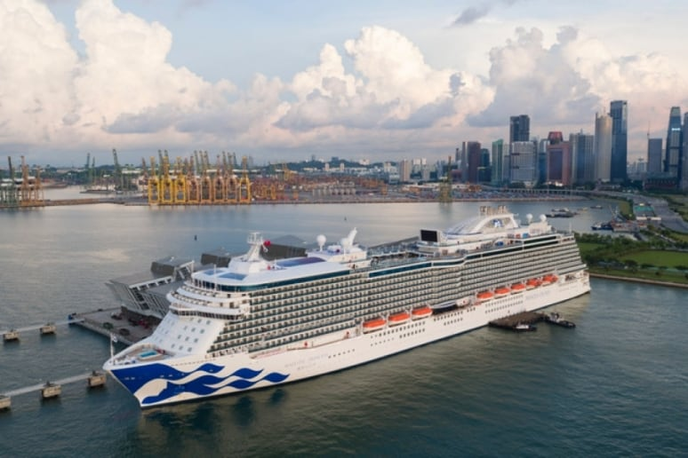 Majestic Princess, Princess Cruises, Singapore