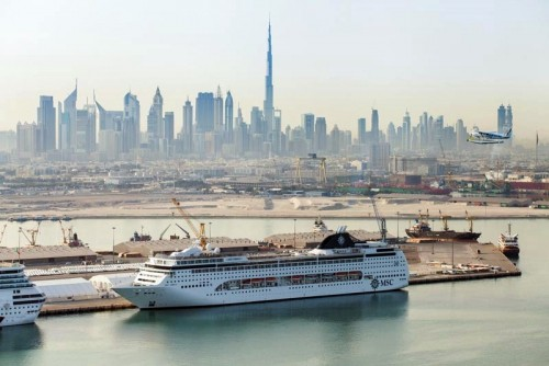 Port Rashid, Dubai, Crociere