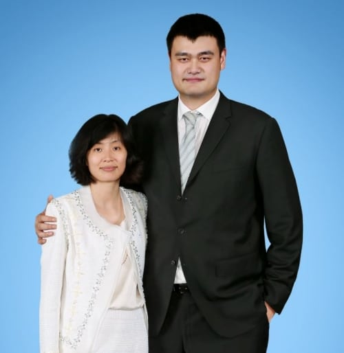Yao Ming and Ye Li Portrait_resized