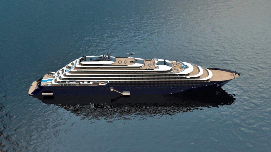 Ritz-Carlton: sarà Azora il nome del primo lussuoso yacht del brand
